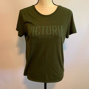 Victoria Secret Sport Low Back Workout Tee